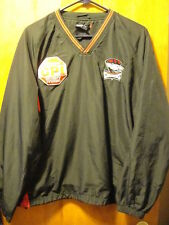 CHARLOTTE CHECKERS AHL ~ Adult Large ~ CPI Security Sponsor Pullover Jacket