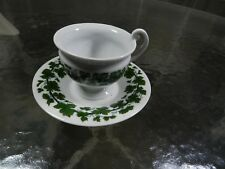 Meissen Ivy  Cup and Saucer