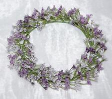 Blütenkranz Dekokranz Kranz Tischdekoration Dekoration flieder lavendel