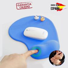 Alfombrilla ergonómica para ratón reposamuñecas calidad viscoelástica premium