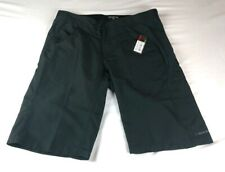 "DAKINE Womens Sz 34"" Adjustable Waist Black Cycling Bike Shorts 100% Nylon $55"