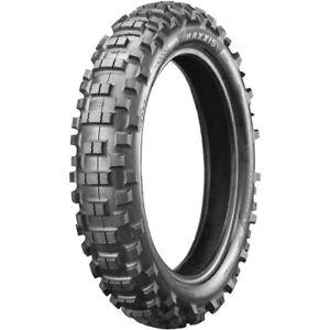 Maxxis MX Enduro 140/80-18 DOT Approved Mid/Hard Dirt Bike Rear Tyre