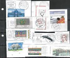 Ungeprüfte Briefmarken aus der BRD (1990-1999) mit Briefstück