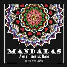 Adult Coloring Book Calming Mandala Books Stress Relieving Designs Paperback