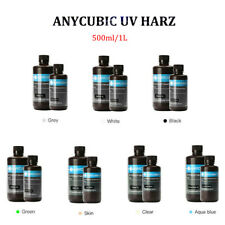 Anycubic 500ml/1L UV Sensitive Resin for SLA/DLP Photon S 3D Printer Grey White