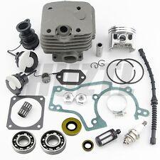 52MM Cylinder Piston Crankshaft Bearing Gasket Oil Seal For STIHL 038 MS380 NEW