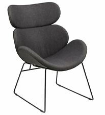 PKline Sessel CAZY in grau Relaxsessel Loungesessel Clubsessel