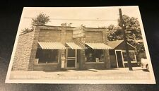 1940's Rppc Wood's Steak House & Two Other Linens of the Same Restaurant Unused