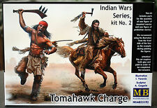 35192 Master Box Indian Wars Series Tomahawk Charge, 1:35, neu 2017