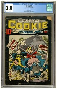 Cookie 49 (CGC 2.0) O/W p; American Comics Group; 1954; Only graded copy (j#3349