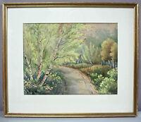 GEORGE GARDNER PHIPPS__Orig Antique Watercolor__Signed & Framed__ExC__SHIPS FREE