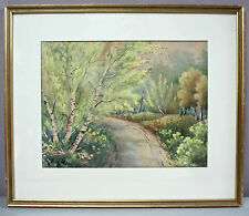 GEORGE GARDNER PHIPPS__Orig Antique Watercolor__Signed & Framed__ExC__SHIPS FREE