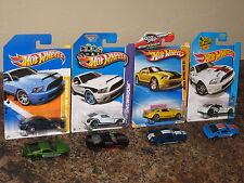 Hot Wheels Nice Lot of 8 2010 Ford Shelby GT-500 Super Snake Variation '10 K&N