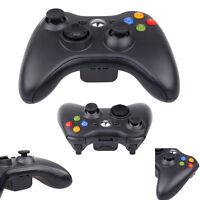 2x Wireless Remote Controller Gamepad For Microsoft Xbox 360 PC Windows10 Black