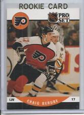 1990-91 Pro-Set Craig Berube Rookie Card RC #498 Mint (Flyers Head Coach)
