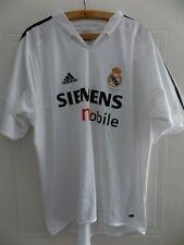 2004 Adidas Real Madrid Camiseta Football Mens Soccer Jersey Shirt Adults Top XL