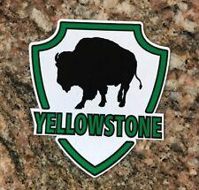 Yellowstone Sticker - Wyoming National Park Camping Fishing Volcano Geyser
