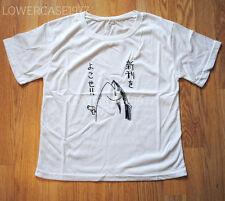 Atún Pistola T-Shirt Japón Kana, Kawaii, Food, Raro-Talla 8-10 Reino Unido Harajuku