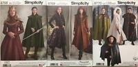New Simplicity Pattern Misses Men Costumes Capes Coats Cosplay Steampunk You Pic