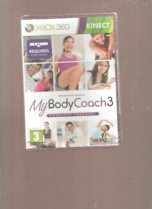 Rare !!! MY BODY COACH 3 : INDISPENSABLE Sur  X BOX 360 KINECT. NEUFBlister