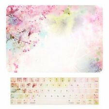 "2016 Macbook Pro 15"" A1707 Touch Bar Matte Case + Keyboard Skin - Cherry Blossom"