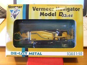 Very rare ERTL 9559-001 Vermeer Navigator Model D 33x44, 1:50, BNIB