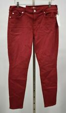 7 FOR ALL MANKIND Size 32,  The Ankle Skinny Red Jeans