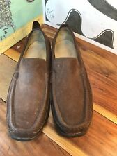 Tommy Bahama Brown Suede Loafers Men's 12M