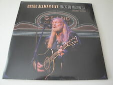 Gregg Allman (ALLMAN BROTHERS): LIVE- BACK TO MACON vinyle 2 LP