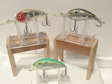 LOT OF 3 EXCALIBUR BOMBER FAT FREE FRY LURES