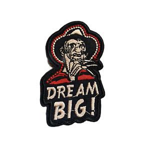 NIGHTMARE ON ELM STREET - Freddy Krueger - Iron / Sew On Fabric Patch 7.5 x 4cm