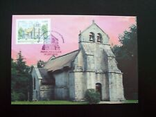 2015_CARTE MAXIMUM  1er JOUR_FDC_EGLISE SAINT-MARTIAL DE LESTARDS_CORRÈZE.
