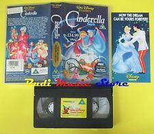 film VHS CINDERELLA 1985 WALT DISNEY classics D204102 CENERENTOLA (F79) no dvd
