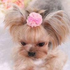 Pet Dog Hair Bows Accessories Grooming Pearl Dog Cat Hairpin Clips for Dog