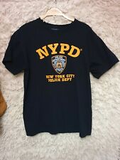 Officially Liscenced NYPD tshirt Mens M navy TEE