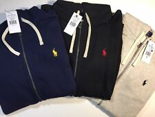 NWT Ralph Lauren Zip Hoodie Sweater Jumper Pullover Authentic