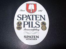 Spaten-Franziskaner-Bräu Spaten Pils STICKER decal craft beer brewing brewery
