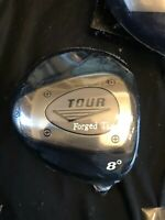 Driver Golf Head New 8 degrees Tour Forged Ti Right Handed