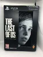 The Last of Us Ellie Edition PlayStation 3 PS3 Fair Condition Incomplete FreeP&P