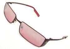 Calvin Klein 2042-183 Sunglasses, Satin Espresso, Raspberry Fade Lenses/Flash,