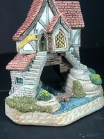 David Winter Cottages - Mordred's Cottage - Rare King Arthur Mib Coa New Perfect
