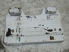 77-82 BMW 320i OEM E21 Rear license plate holder with lights USED