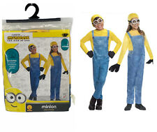 MINIONS Despicable Me Halloween Costume by Rubie's Unisex Sz Small 3T-4T NEW