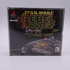 Star Wars Rebel Assault II 2 Sony PlayStation 1 PS1 PSX PAL Spiel Game