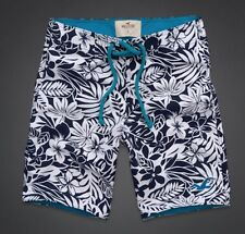 """NWT HOLLISTER Mens Size Small Calabasas Swim Shorts with 9"""" Inseam"""