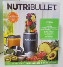 NutriBullet Magic Bullet 8 Piece Set Nutrition Extractor Blender Juicer 600W New