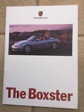 Porsche Boxster FOLLETO c1998 En Perfecto Estado