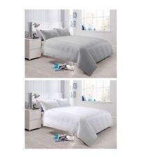 300 Thread Count Waffle Stripe Duvet Quilt Cover Set, Cotton Rich Bed Linen