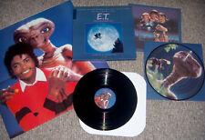 Michael Jackson E.T. Album 1982 MCA 7000 with a Pixcture Disc (Box Set)
