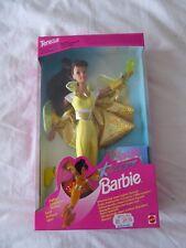 "Vintage Galaxy Teresa Barbie Doll ""Chatoyant Cape!"" 1995-Mattel 14031-Neuf"